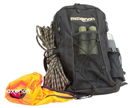 Maxenon - Outdoor Rucksack schwarz