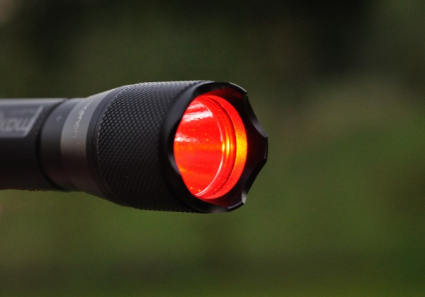 Maxx 3 - LED Reflektor - rot