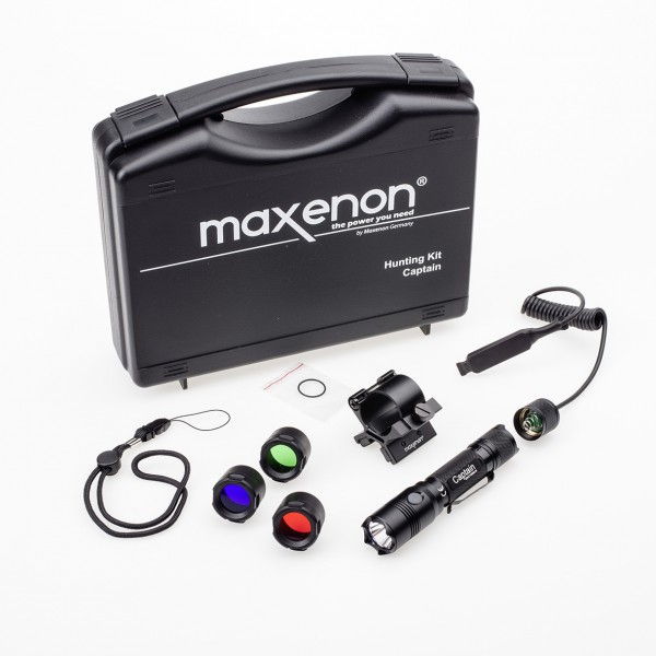 Maxenon Captain-Hunting Set LED 985 Lumen